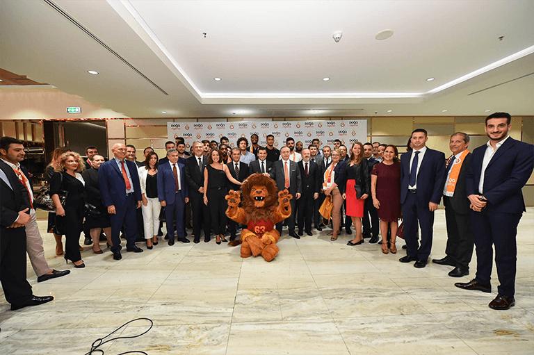 Doğa Sigorta Galatasaray Erkek Basketbol Takımı'nın Yanında!